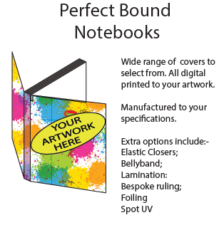 Perfect Bound Notebooks